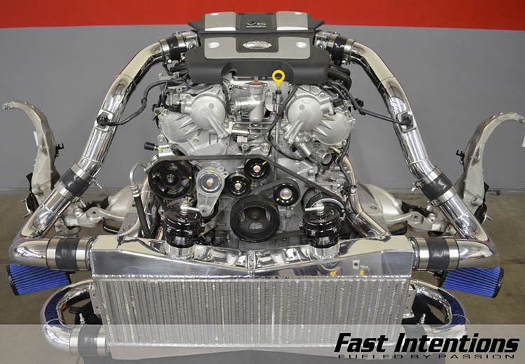 fastintentions 370z turbo kit