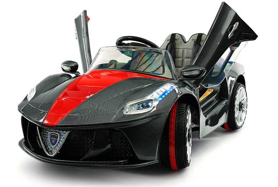 ferrari spider gt ride on rc drift car