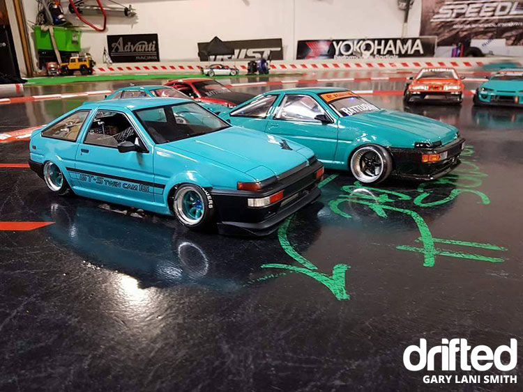 rc drift car ae86 twins