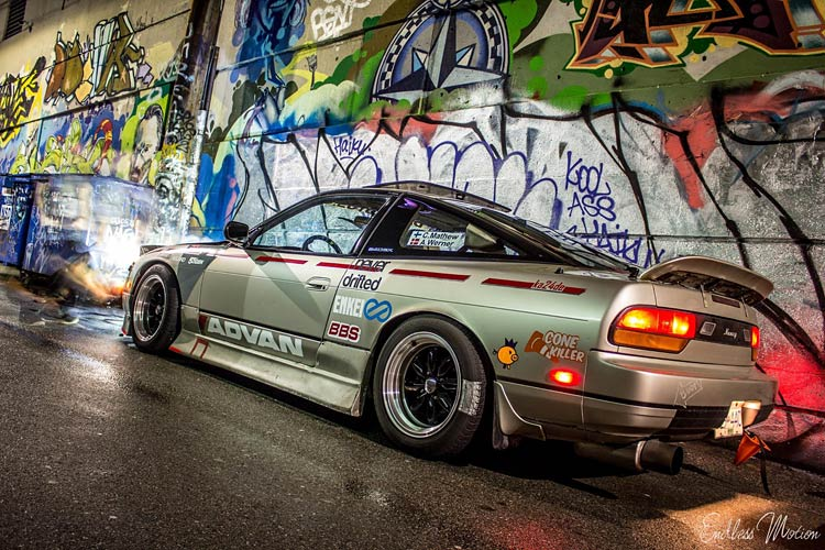 240sx s13 rear tunnel