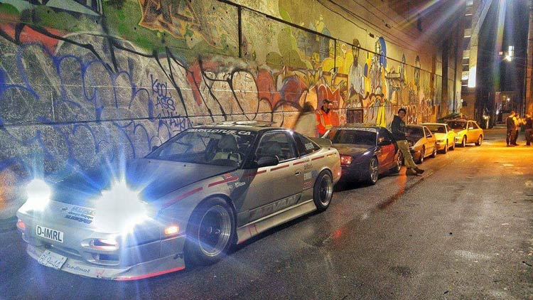 240sx s13 tunnel