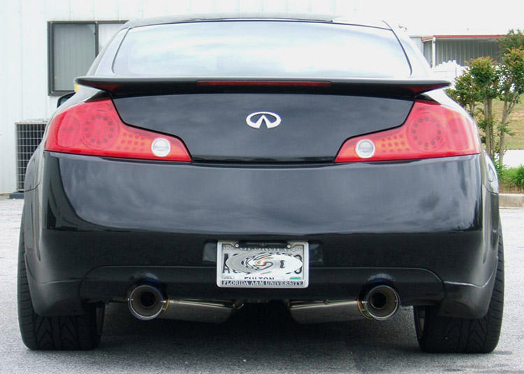 hks g35 exhaust