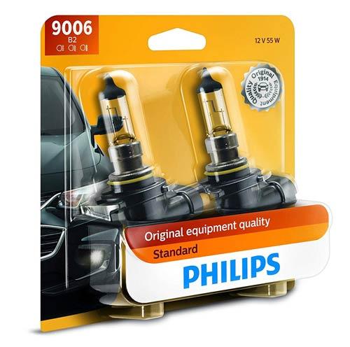 Philips Standard Halogen Replacement Headlight Bulbs
