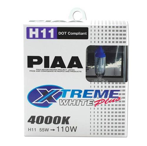 PIAA 15211 Xtreme White Plus High Performance Halogen Bulbs