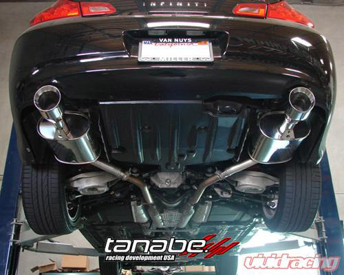 tanabe g35 exhaust