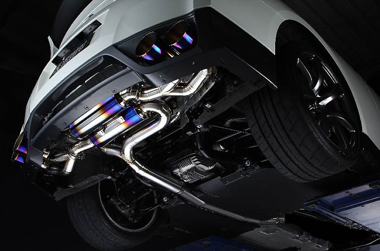 amuse gtr exhaust