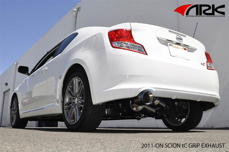 ark grip scion tc exhaust