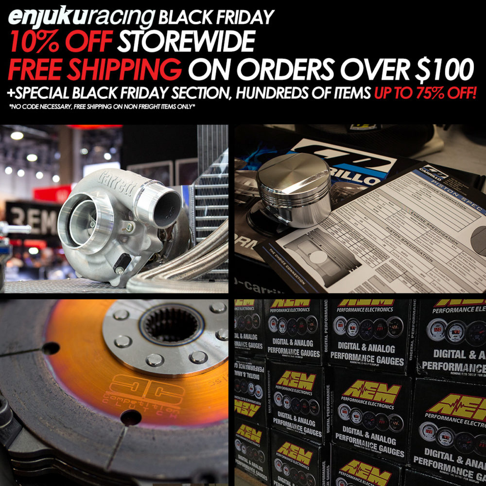 Enjuku Racing Black Friday Sale
