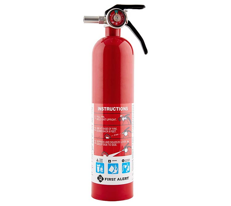 first alert rechargable fire extinguisher