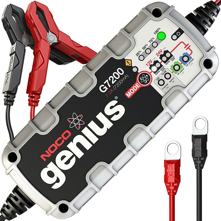 g7200 car battery maintainer