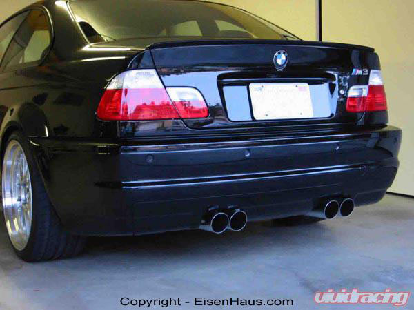 meisterschaft e46 m3 exhaust