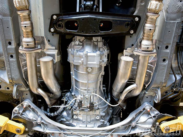 motordyne 1 370z test pipes
