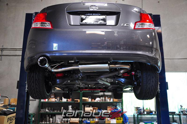 tanabe medalion touring scion tc exhaust