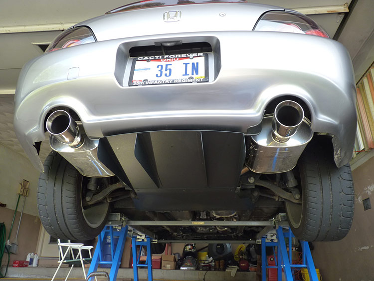 tanabe s2000 exhaust