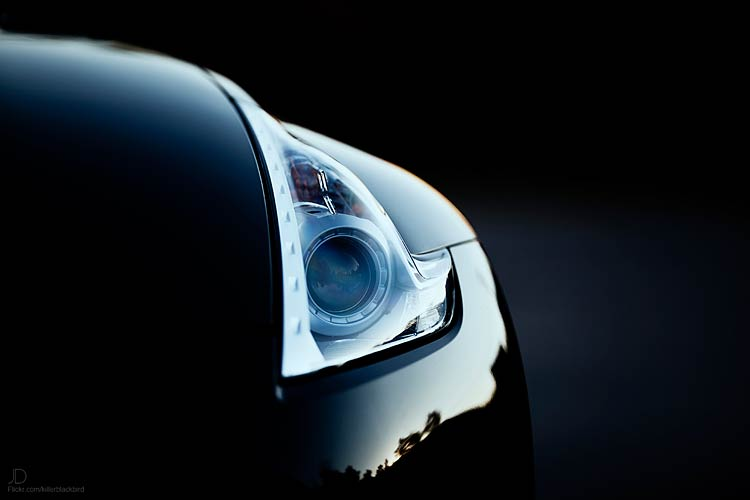 370z headlight