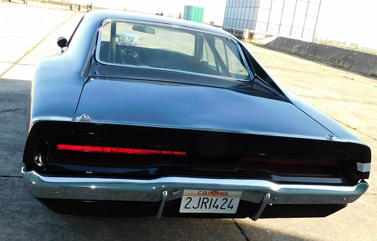 dodge charger rear