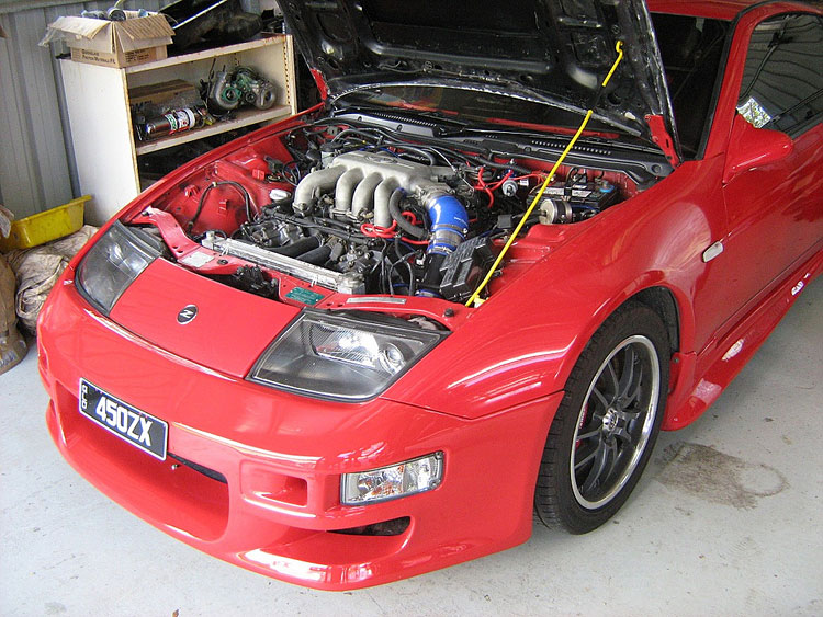 vh45de 300zx z32 engine swap