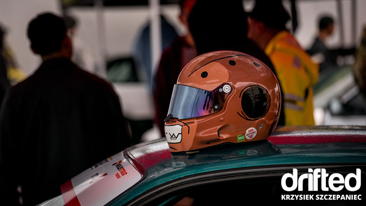 drifters helmet