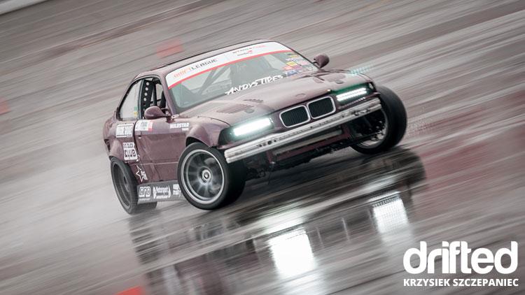 e36 sedan drifting