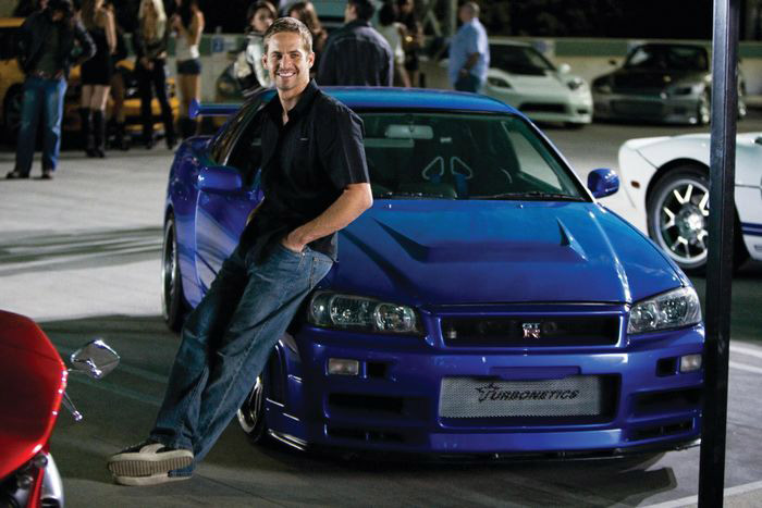 paul walker skyline