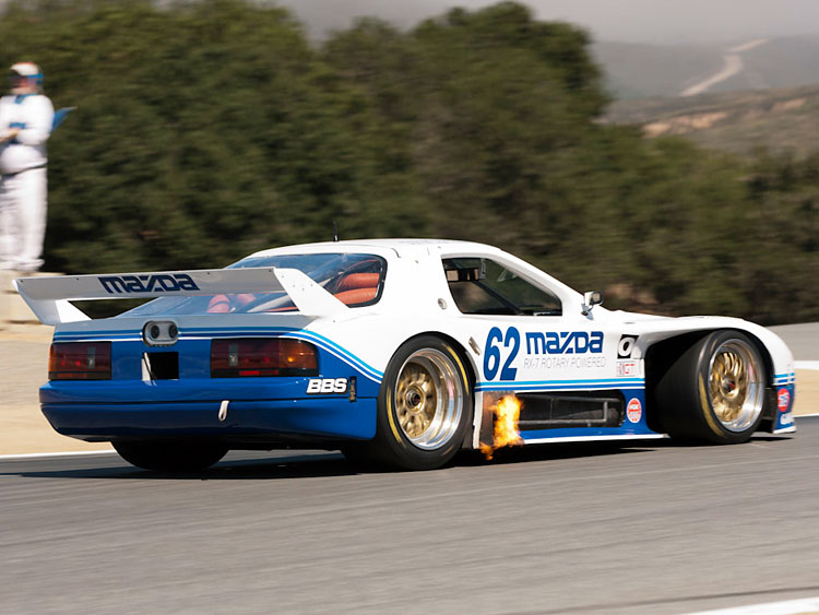 madza rx7 fc3s race car