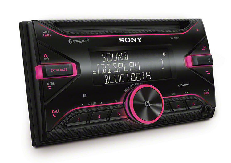 sony double din head unit