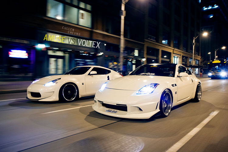 nissan 350z vs 370z cruising