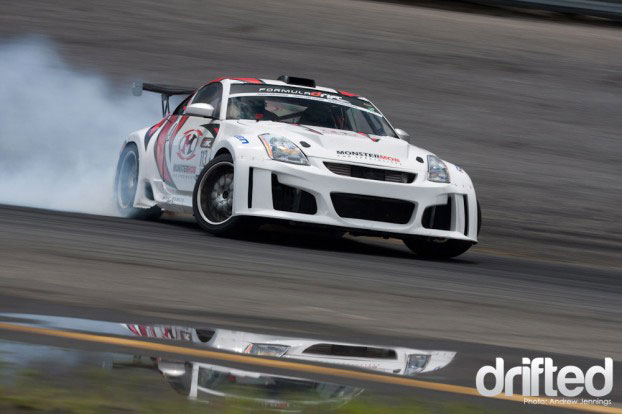 nissan 350z drift squat