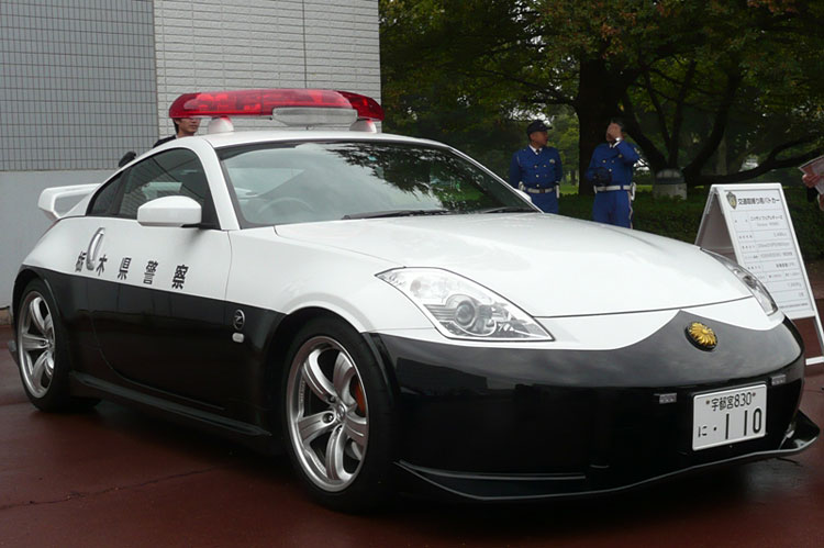 japan police nissan 350z