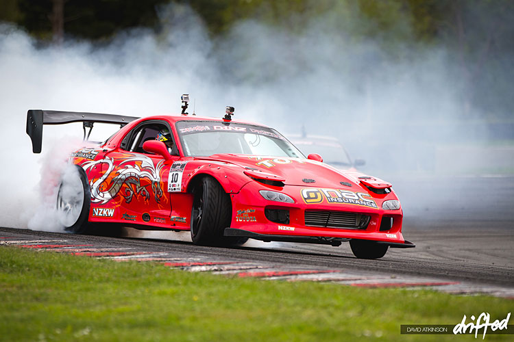 red mazda rx7 fd3s
