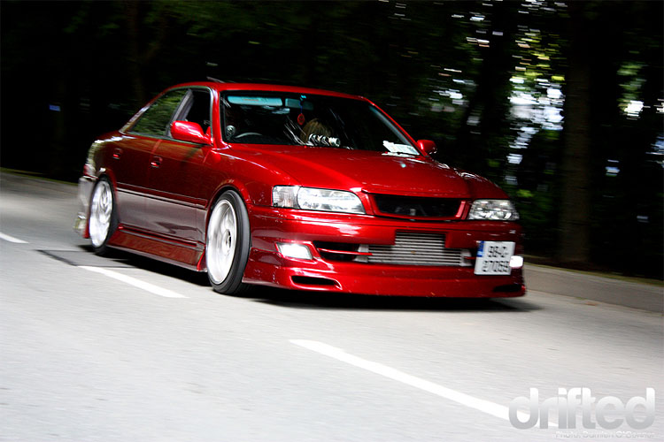 toyota jzx100 red