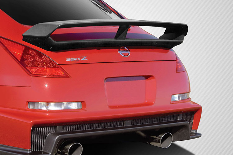 carbon creations middle leg 350z wing
