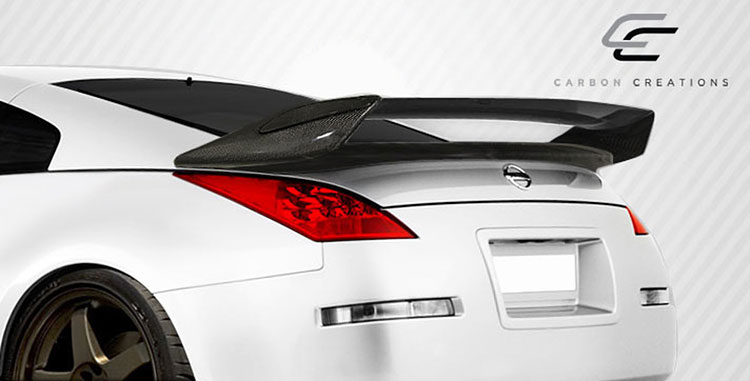 carbon creations subtle 350z wing