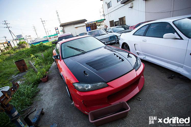 jdm s15 garage