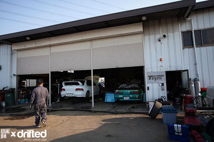 jdm storage garage