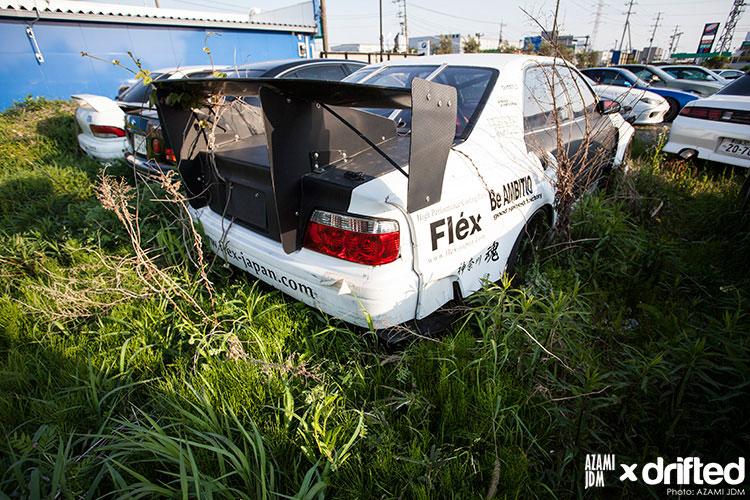 overgrown car storage