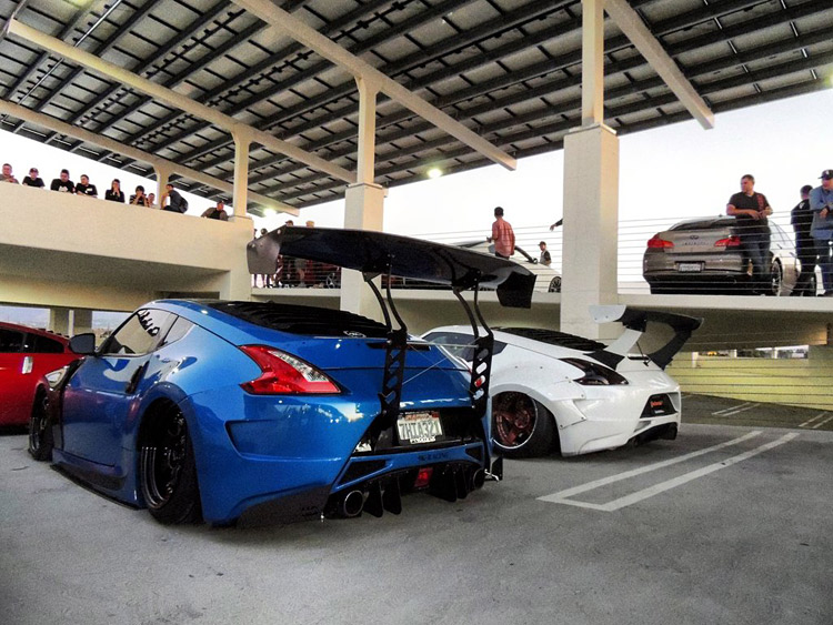 nissan 370Z big wing