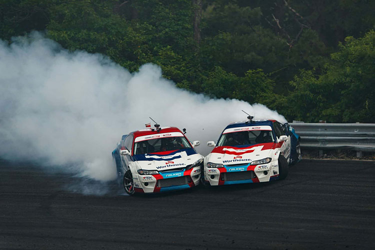 team worthouse formula drift cars