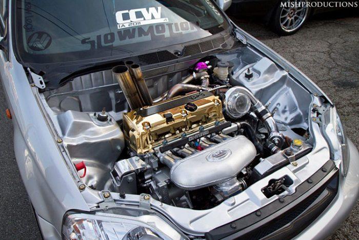 honda k20 gold turbo