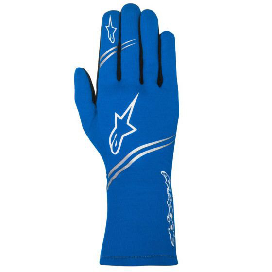 alpine stars tech 1 start blue racing gloves