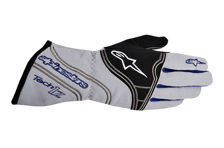alpine stars tech 1 z white racing gloves