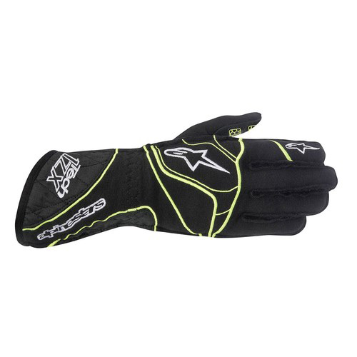 alpine stars tech 1 zx black racing gloves