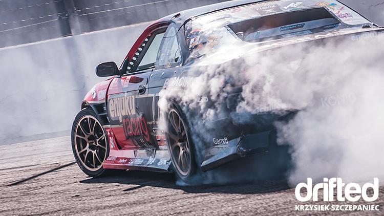 enjuku racing 240sx s14 burnout