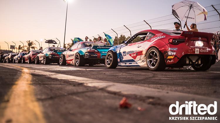 formula drift cars lineup