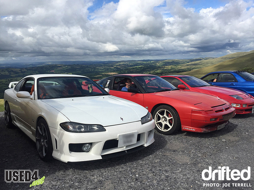 s15 parked black mountain pass