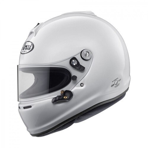 arai gp 6s white racing helmet