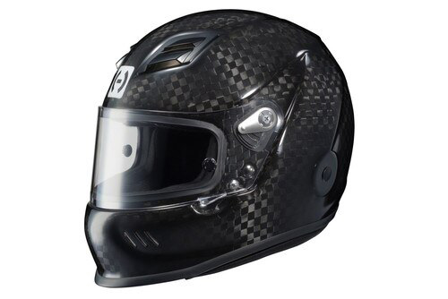 hjc hx 10 iii black racing helmet