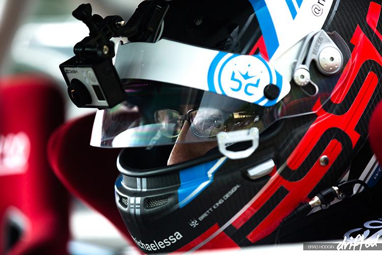 michael essa formula d racing helmet
