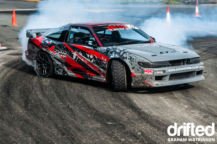 nissan s13 sil80 drifting