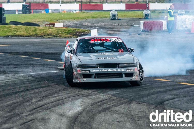 nissan sil80 drifting front
